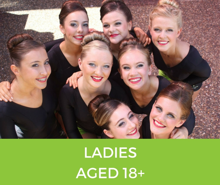 ladies Classes at Alstonville Physie - for girls and ladies 3 years old and up